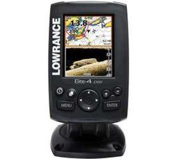 Эхолот-картплоттер Lowrance Elite 4 DSI (DownScan Imaging™) - фото 1
