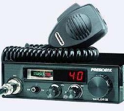 фото Автомобильная радиостанция President Taylor III ASC